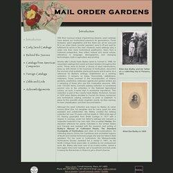 Mail Order Gardens