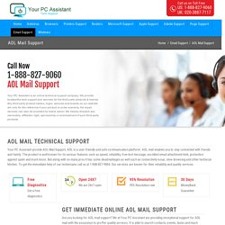 AOL Mail Support Number 1-888-827-9060
