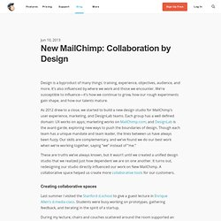 New MailChimp: Collaboration by Design