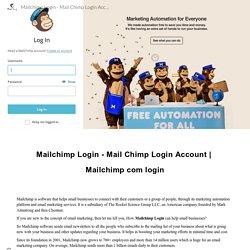 Mailchimp Login - Mail Chimp Login Account