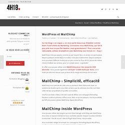 MailChimp, la newsletter pour WordPress