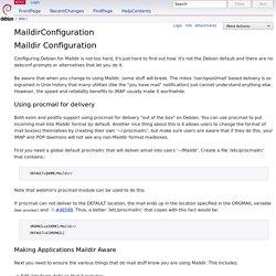MaildirConfiguration