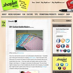 DIY: Custom Bubble Mailers | Shoplet Office Supplies Blog