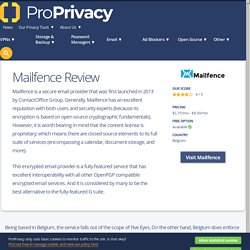 Mailfence review (2020)