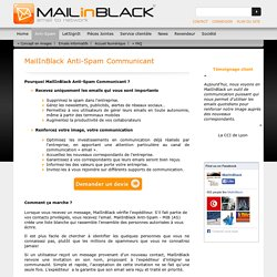 MailInBlack Anti-Spam Communicant