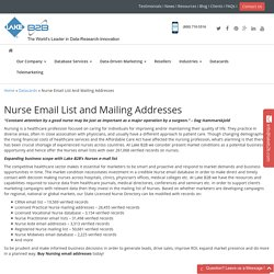 Nurses Mailing Addresses