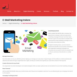 Bulk E mail, Mass Mailing, Marketing Company and Agency In Indore