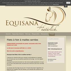 Filets à foin à mailles serrées - Equisana