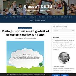 Mailo Junior, un email gratuit et sécurisé pour les 6-14 ans