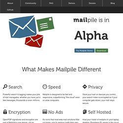 Mailpile: Let's take e-mail back! - Vimperator