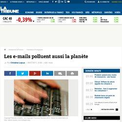 Les e-mails polluent aussi la planète