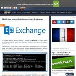 MailSniper, un outil de forensic pour Exchange