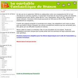 Le cartable fantastique de Manon - Main - HomePage