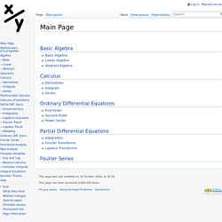 Main Page - Exampleproblems