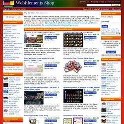 Ltd> Main shop menu > Periodic table T-shirts and socks > Periodic table shirt - periodic noir