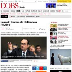 La main tendue de Hollande à Poutine - L'Obs