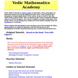 Vedic Maths Tutorial
