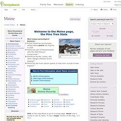 FamilySearch Wiki: ME