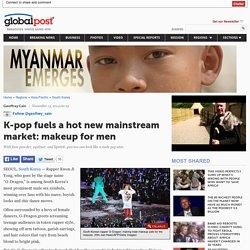 K-pop fuels a hot new mainstream market: makeup for men