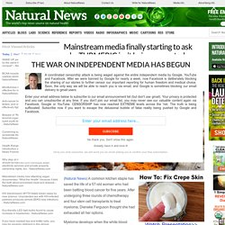 Mainstream media finally starting to ask why TURMERIC isn't being promoted as a safe, affordable treatment for CANCER – NaturalNews.com