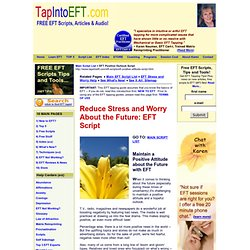 Maintain a Positive Attitude | Free EFT Positive Outlook Script
