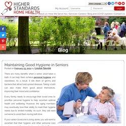 Maintaining Good Hygiene in Seniors