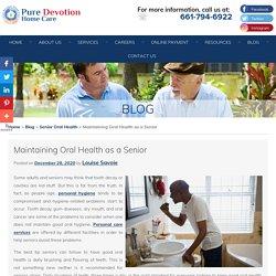 Maintaining Oral Health as a Senior