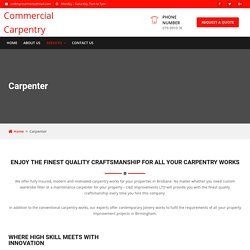 Commercial Carpentry Sutton Coldfield