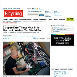 Easy Bicycle Maintenance Tips You Can Use at Home