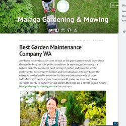 Best Garden Maintenance Company WA – Malaga Gardening & Mowing