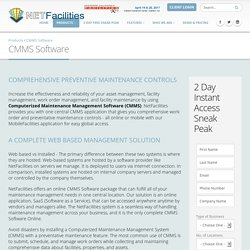 Computerized Maintenance Management Software