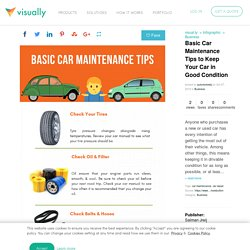 Basic Car Maintenance Tips to Keep Your Car in Good Condition