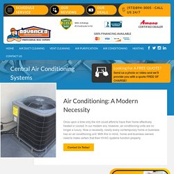 Central Air Conditioning Systems & Maintenance Service
