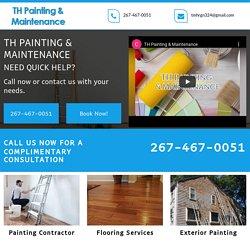 TH Painting & Maintenance, painting contractor Villanova PA