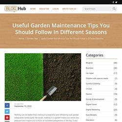 Useful Garden Maintenance Tips By Melaleuca Landscapes