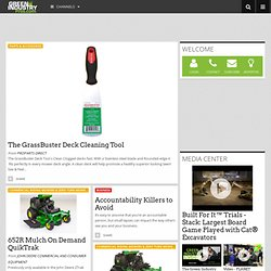 Green Industry Website - Landscape Industry Magazines - Landscape Contractors - Lawn & Garden Equipment Dealers