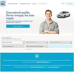 Auto Repair and Maintenance Estimates | Auto Shop and Mechanic Ratings : RepairPal