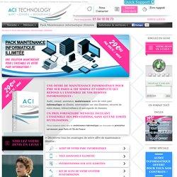 Pack Maintenance informatique illimitée, la maintenance et l'infogérance pour les PME