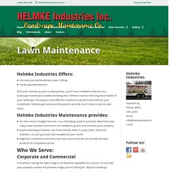 Commercial Lawn Maintenance Bergen County