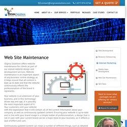 Website Maintenance Toronto