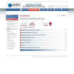 Commerce et maintenance de cycles / Les secteurs / L'essentiel des services de l'automobile / Accueil - ANFA Observatoire des métiers de la Branche des services de l'automobile