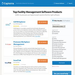 Facility Management Software: facilities maintenance, cafm, preventative maintenance system
