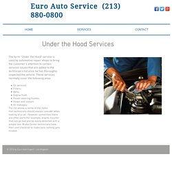 Car Repair And Maintenance Service in Los Angeles