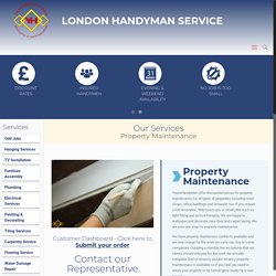 Property Maintenance – YoursHandyMan Team