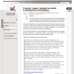 Loppsi : kokopelli se rebelle maintenant en informatique