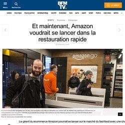Et maintenant, Amazon voudrait se lancer dans la restauration rapide