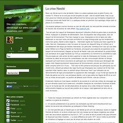 La crise Nestlé - JBlog Pro, by JB Plantin