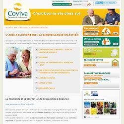 Maintien à domicile des personnes âgées dépendantes : service aide ménagère et repas domicile