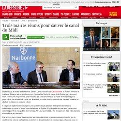 Trois maires réunis pour sauver le canal du Midi - 16/02/2016 - ladepeche.fr