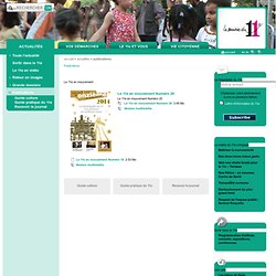 Mairie du 11e - Publications